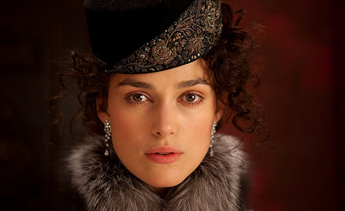 Still shot from the movie: Anna Karenina.