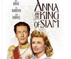 Still shot from the movie: Anna and the King of Siam.