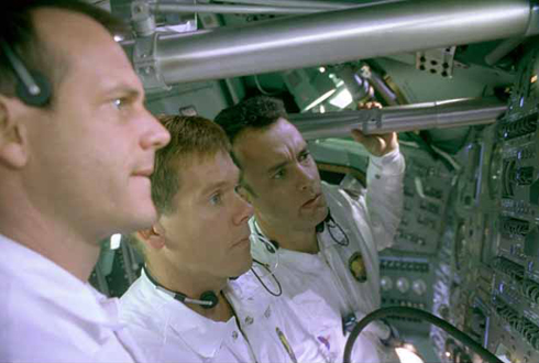Still shot from the movie: Apollo 13.