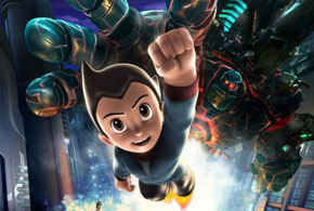 Still shot from the movie: Astro Boy.