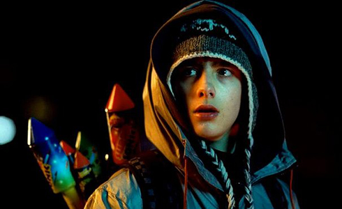 Still shot from the movie: Attack the Block.