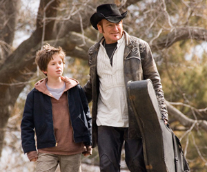 Still shot from the movie: August Rush.