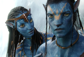 Still shot from the movie: Avatar.