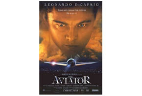 Still shot from the movie: The Aviator.