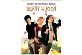 Still shot from the movie: Benny & Joon.