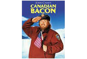 Still shot from the movie: Canadian Bacon.