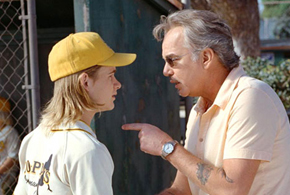 Still shot from the movie: Bad News Bears.