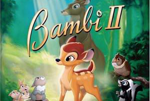 Still shot from the movie: Bambi II.