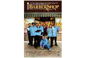 Still shot from the movie: Barbershop.