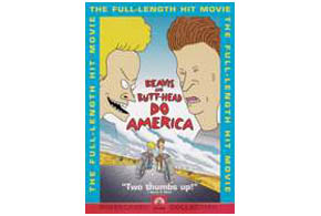 Still shot from the movie: Beavis And Butt-Head Do America.
