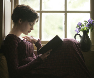 Still shot from the movie: Becoming Jane.