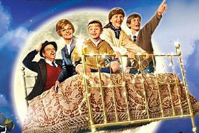 Still shot from the movie: Bedknobs and Broomsticks.
