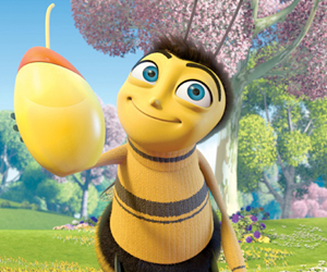 Still shot from the movie: Bee Movie.