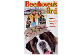 Still shot from the movie: Beethoven's 3rd.