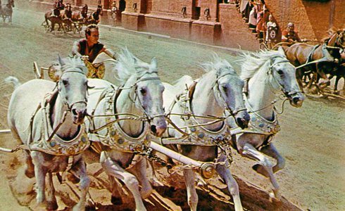 Still shot from the movie: Ben-Hur.