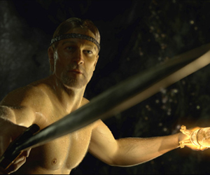 Still shot from the movie: Beowulf.