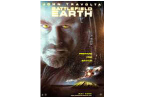 Still shot from the movie: Battlefield Earth.
