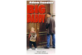 Still shot from the movie: Big Daddy.