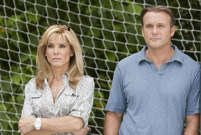 Still shot from the movie: The Blind Side.