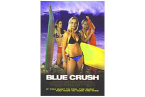 Still shot from the movie: Blue Crush.