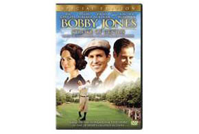 Still shot from the movie: Bobby Jones: Stroke of Genius.