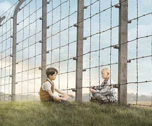 Still shot from the movie: The Boy in the Striped Pajamas.