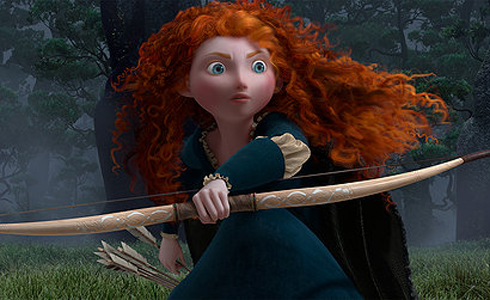 Still shot from the movie: Brave.
