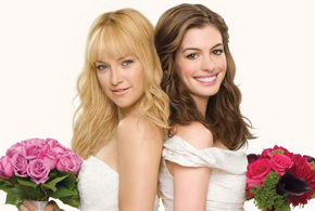 Still shot from the movie: Bride Wars.