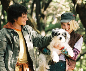 Still shot from the movie: Bridge to Terabithia.