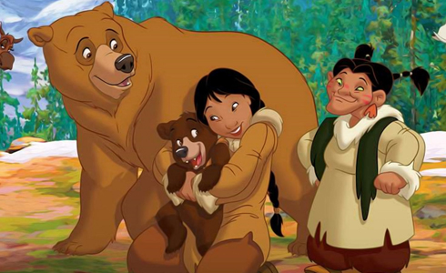 Still shot from the movie: Brother Bear 2.