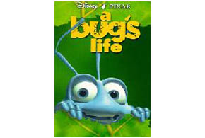 Still shot from the movie: A Bug's Life.
