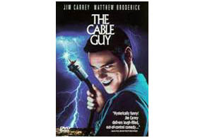 Still shot from the movie: The Cable Guy.