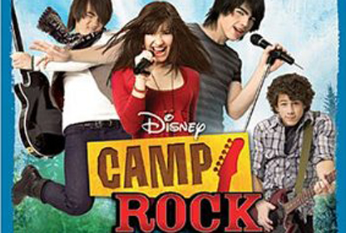Still shot from the movie: Camp Rock.