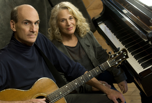 Still shot from the movie: Carole King and James Taylor Live At The Troubadour.