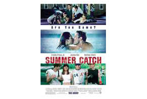 Still shot from the movie: Summer Catch.