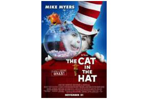 Still shot from the movie: Dr. Seuss' The Cat in the Hat.