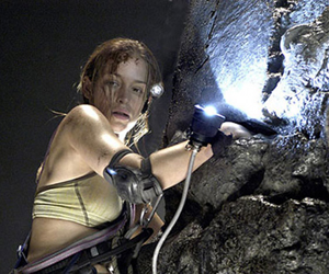 Still shot from the movie: The Cave.