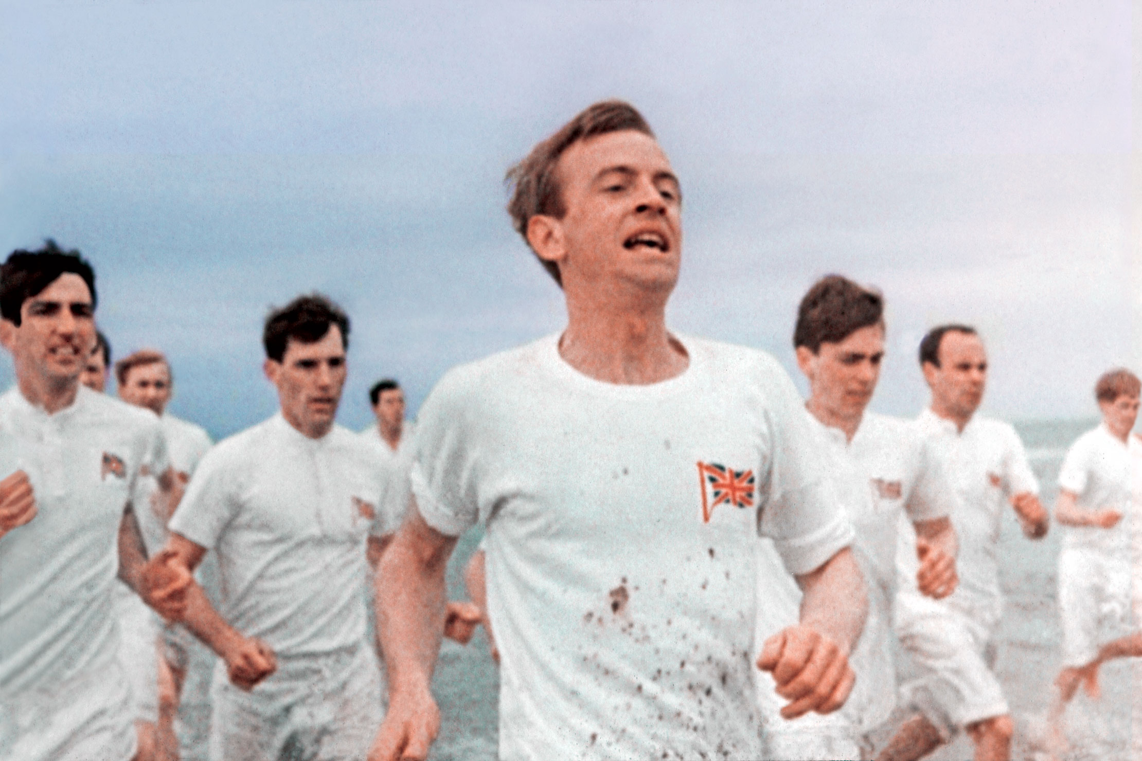 Still shot from the movie: Chariots Of Fire.