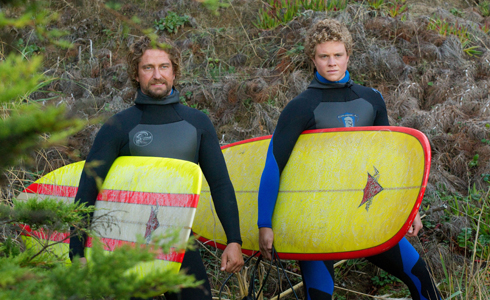 Still shot from the movie: Chasing Mavericks.
