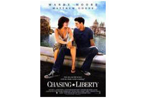 Still shot from the movie: Chasing Liberty.