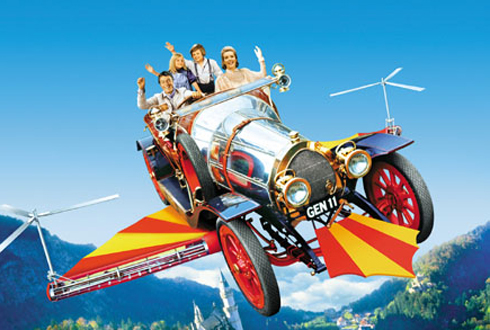 Still shot from the movie: Chitty Chitty Bang Bang.