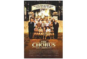 Still shot from the movie: The Chorus.