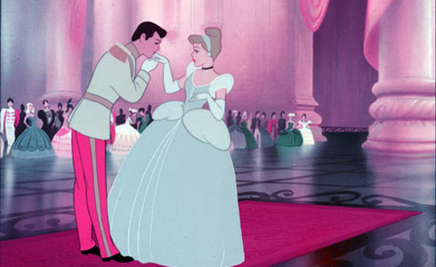 Still shot from the movie: Cinderella.