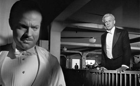 Still shot from the movie: Citizen Kane.