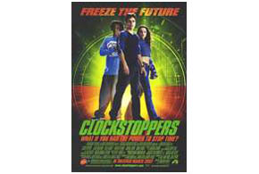 Still shot from the movie: Clockstoppers.