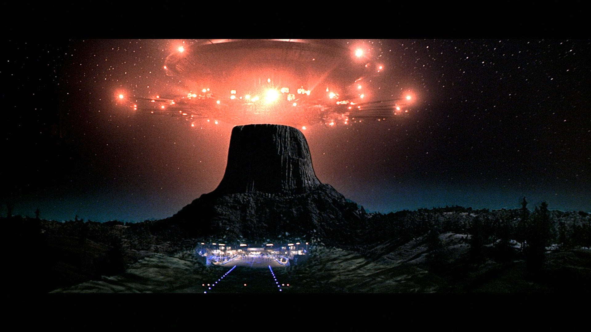 Still shot from the movie: Close Encounters Of The Third Kind.