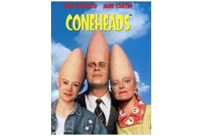 Still shot from the movie: Coneheads.