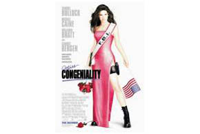 Still shot from the movie: Miss Congeniality.