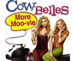 Still shot from the movie: Cow Belles.