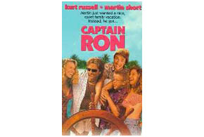 Still shot from the movie: Captain Ron.